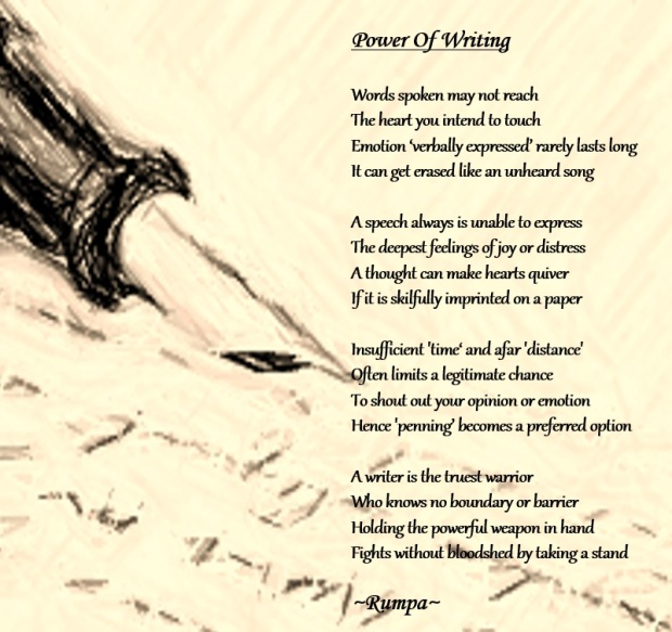 power of writing